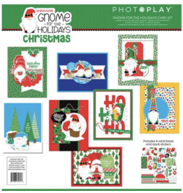 Photoplay Gnome for Christmas Card Kit