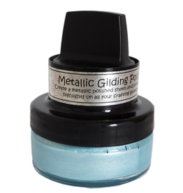 Cosmic Shimmer Metallic Gilding Polish: Powder Blue