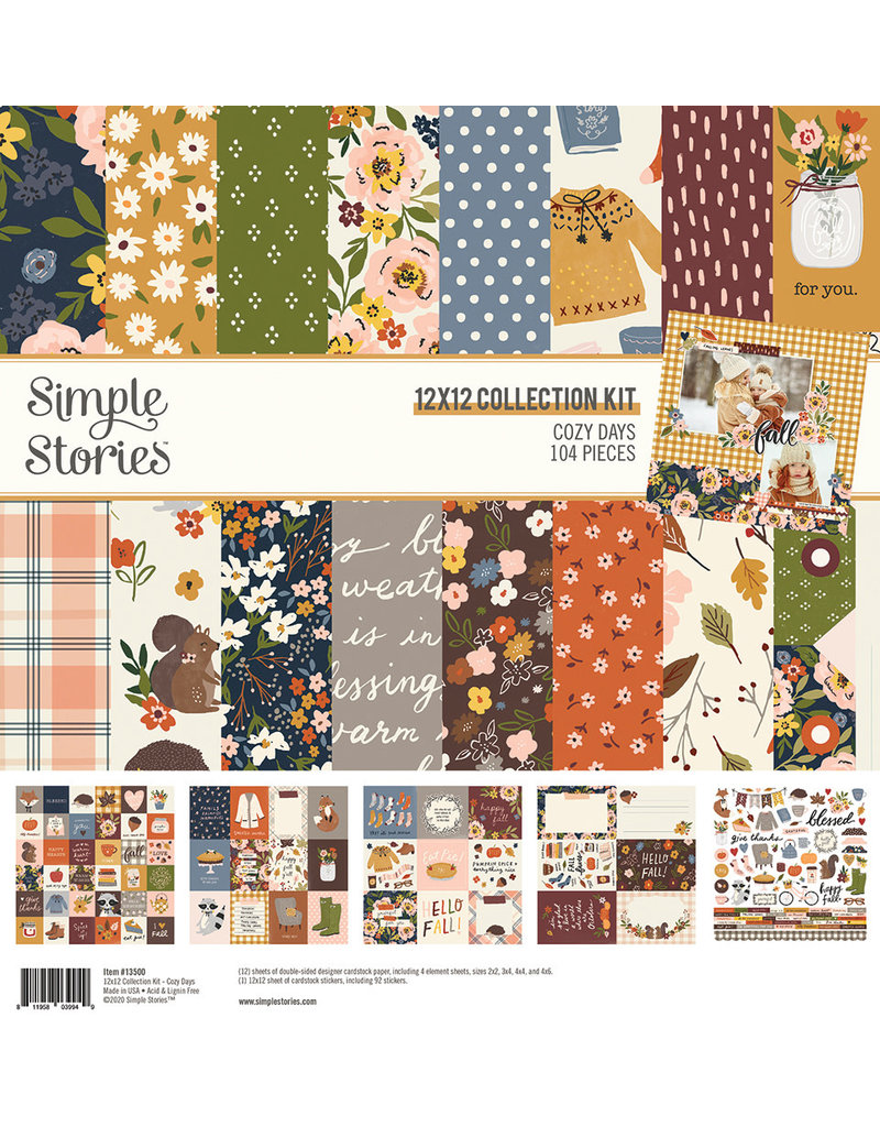 simple stories Cozy Days: Collection Kit