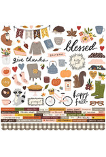 simple stories Cozy Days: Cardstock Sticker