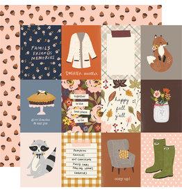 simple stories Cozy Days Paper:3x4 Elements