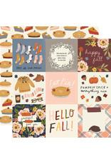simple stories Cozy Days Paper:4x4 Elements