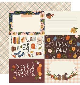 simple stories Cozy Days Paper:4x6 Elements