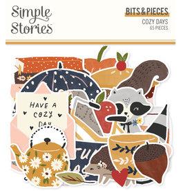 simple stories Cozy Days: Bits & Pieces