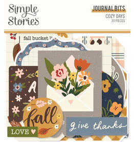 simple stories Cozy Days: Journal Bits