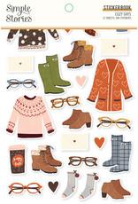 simple stories Cozy Days: Sticker Book