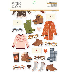 simple stories Cozy Days: Sticker Book