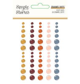 simple stories Cozy Days: Enamel Dots
