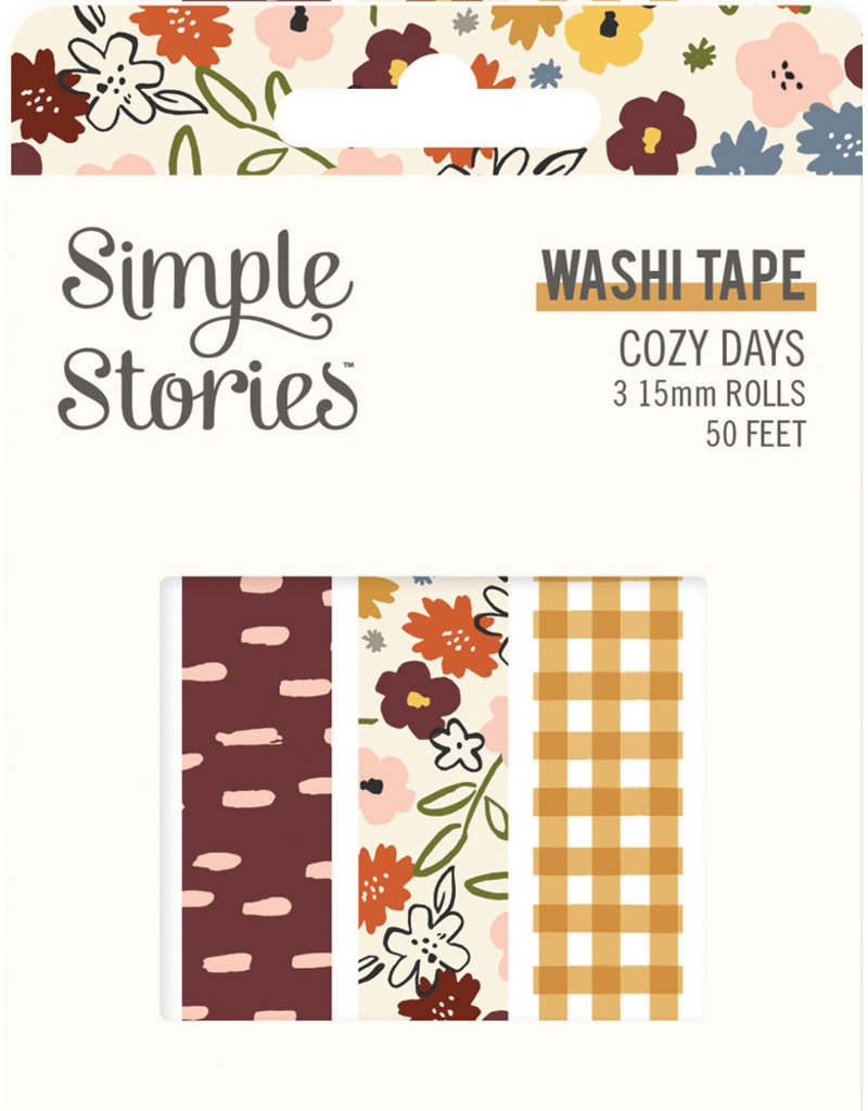 simple stories Cozy Days: Washi Tape