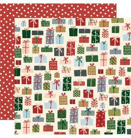 simple stories Winter Cottage Paper: Season of Wonder