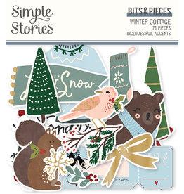 simple stories Winter Cottage: Bits & Pieces