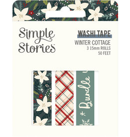 simple stories Winter Cottage: Washi Tape