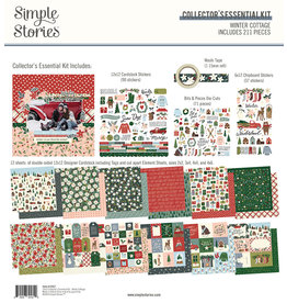 simple stories Winter Cottage: Collector's Essential Kit