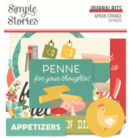 simple stories Apron Strings: Journal Bits