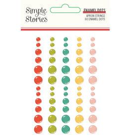simple stories Apron Strings: Enamel Dots