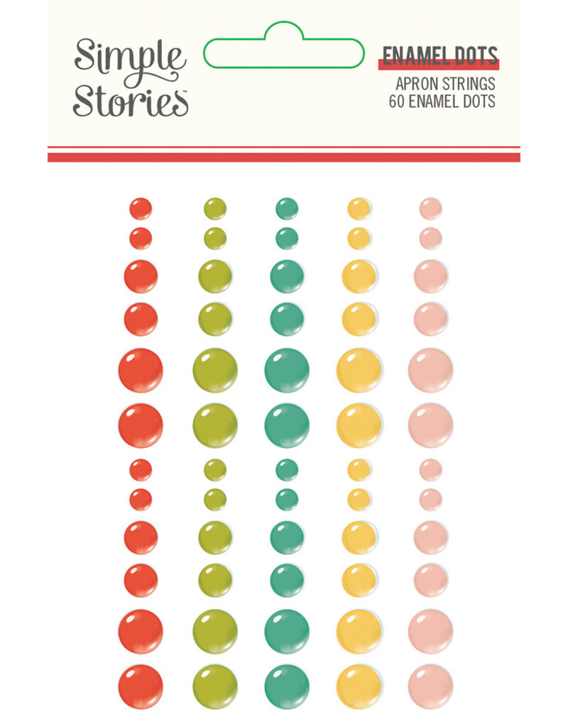 simple stories Apron Strings: Enamel Dots