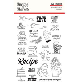 simple stories Apron Strings: Stamps