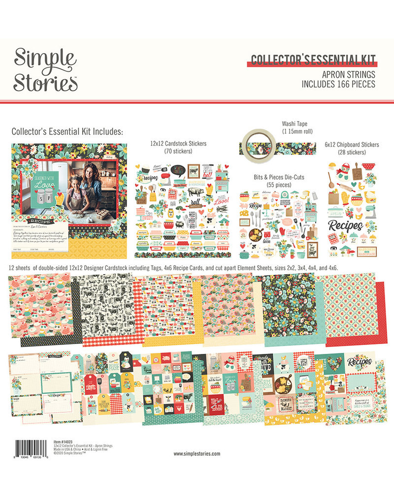 simple stories Apron Strings:  Collector's Essential Kit