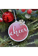 HERO ARTS Cheer Ornament Fancy Die