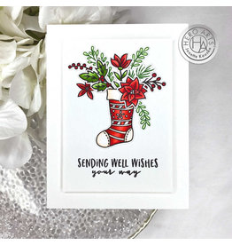 HERO ARTS Stocking Bouquet Frame Cuts
