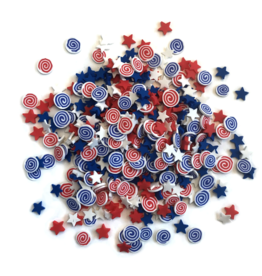 Buttons Galore Sprinkletz: Firecrackers