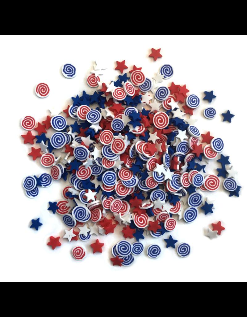 Buttons Galore Sprinkletz: Firecrackers
