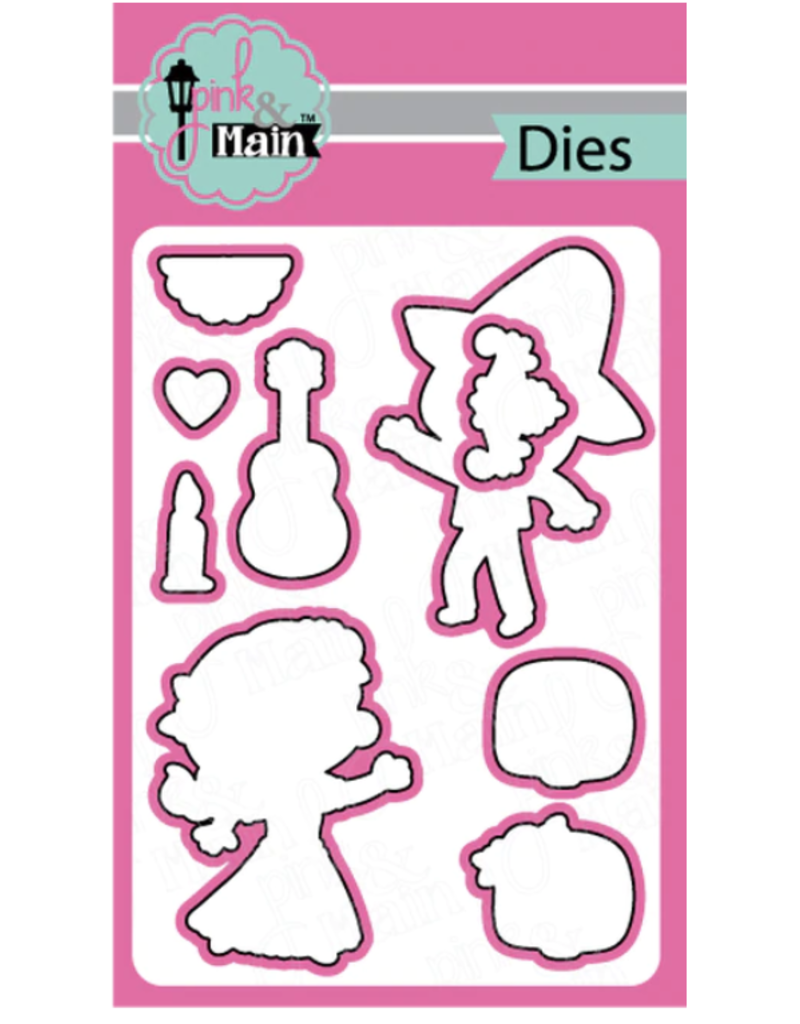 pink & main Day of the Dead Die