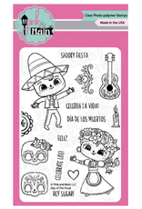 pink & main Day of the Dead Stamp