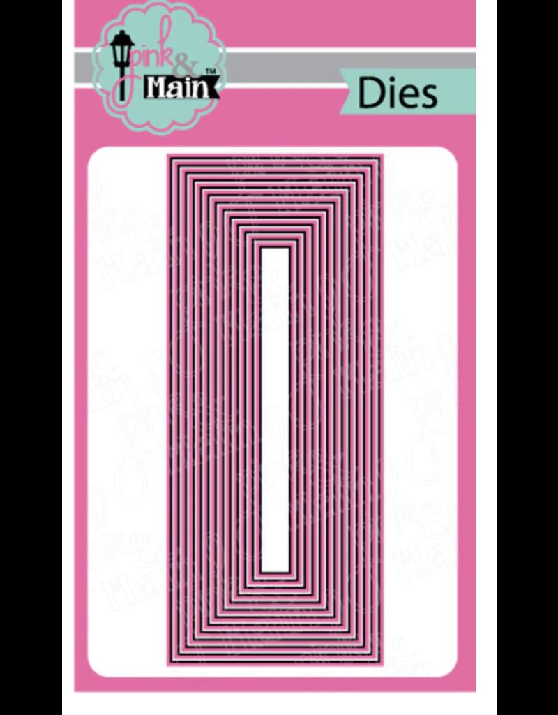pink & main Layered Slimline Dies