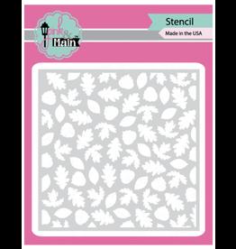 pink & main Leafy Stencil