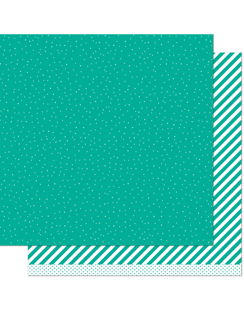 let it shine paper: teal sprinkle