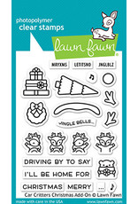 car critters christmas add-on stamp
