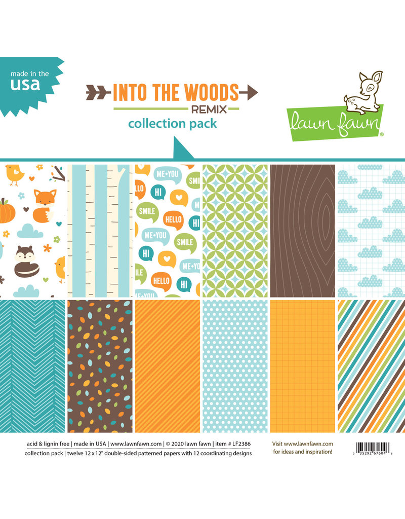 into the woods remix paper: 12x12 collection pack