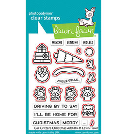 car critters christmas add-on  die