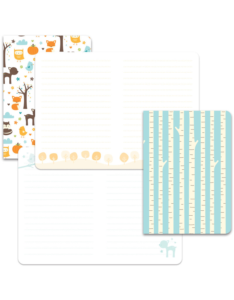 into the woods remix paper: mini notebooks