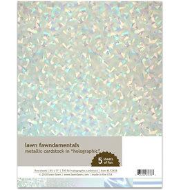 metallic cardstock - holographic