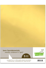 metallic cardstock - gold