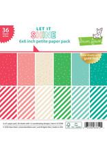 let it shine paper: 6x6 pad
