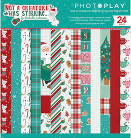 Photoplay Not A Creature Was Stirring 6x6 Pad