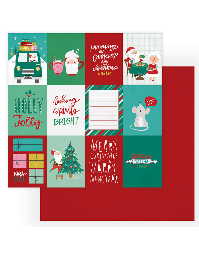 Photoplay Not A Creature Was Stirring Paper:Christmas Cheer