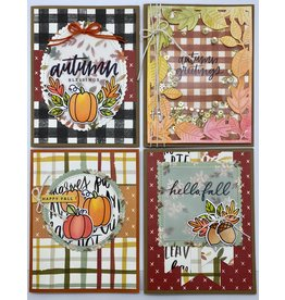 Nikki Sher 10/11 Fun & Easy Fall Watercolor Cards by Nikki
