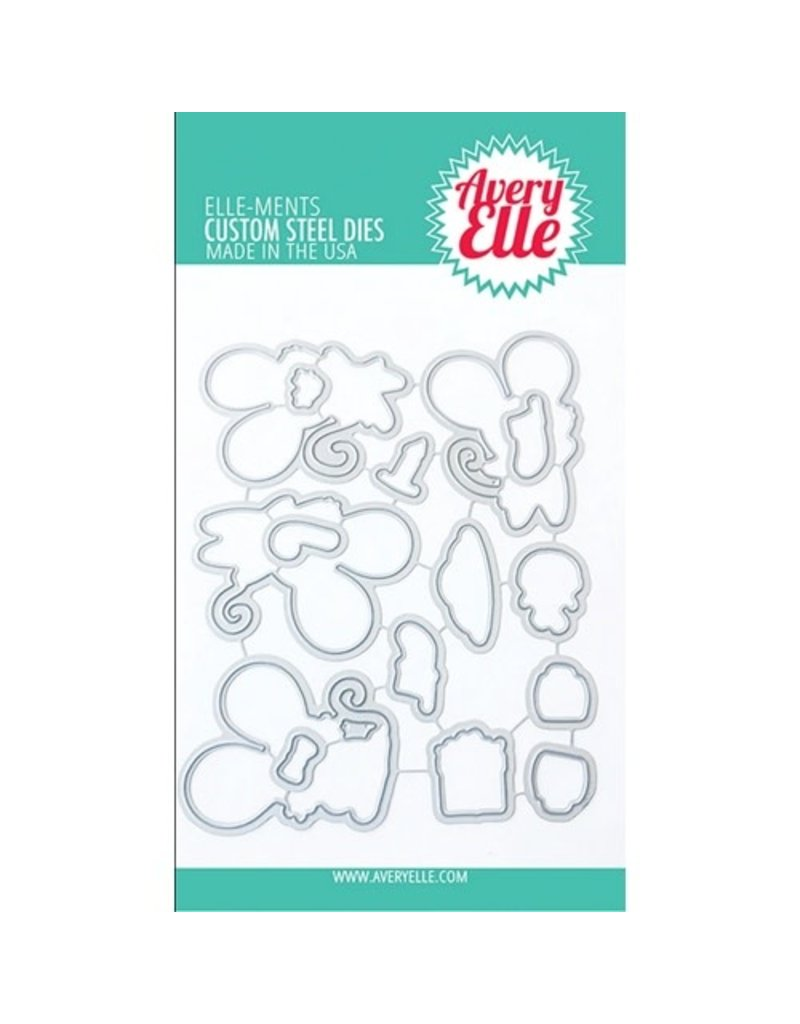 avery elle Die: Christmas Mice Elle-ments