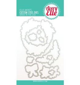 avery elle Die: Rustic Wreath Elle-ments