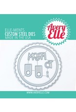 avery elle Die: Holiday Circle Tags Elle-ments
