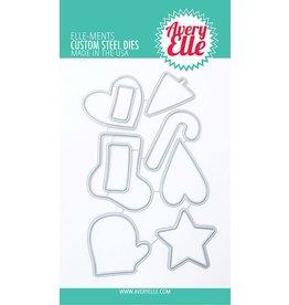 avery elle Die: Christmas Cookies Elle-ments
