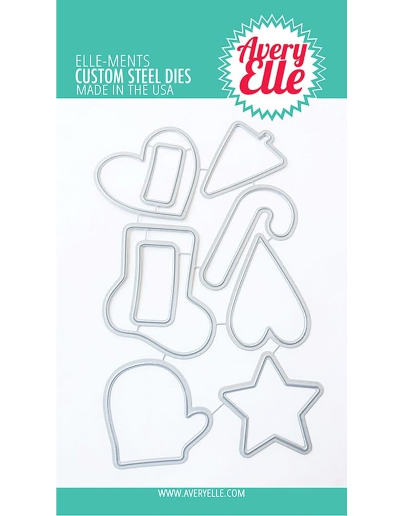 avery elle Die: Christmas Cookies Elle-ments