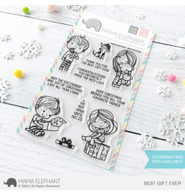 Mama elephant Best Gift Ever Stamp