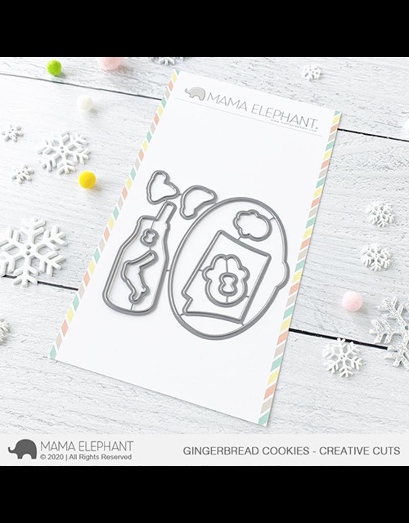 Mama elephant Gingerbread Cookies Die