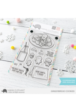 Mama elephant Gingerbread Cookies Stamp