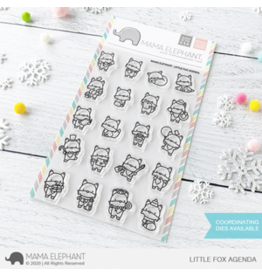 Mama elephant Little Fox Agenda Stamp